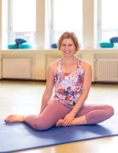 Sandy bei Mama Fitness in Wiesbaden